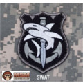 MSM Tac Shark Patch - SWAT