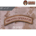 MSM Smooth Operator Patch - Desert