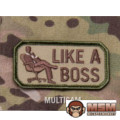MSM Like A Boss Patch - Multicam