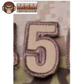 MSM Tac-Number 5 Patch - Desert