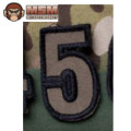 MSM Tac-Number 5 Patch - Forest