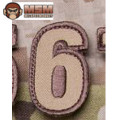 MSM Tac-Number 6 Patch - Desert