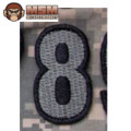 MSM Tac-Number 8 Patch - ACU Dark