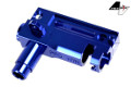 ProWin CNC Aluminum Hop-up Chamber For Marui AK AEG Rifle (Blue)