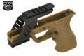 SRU 3D Printed Advanced Frame Kit For Marui/WE G17/18C GBB (Tan)