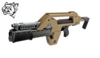 Snow Wolf M41A Pulse Rifle AEG (Alien Gun)(Tan)