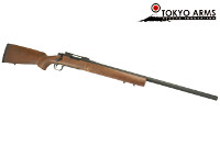 Tokyo Arms Real Wood M700 CDL Gas Bolt Action Sniper Rifle (BK)