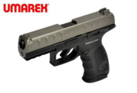 Umarex APX 6mm Metal Slide CO2 Pistol (Grey)