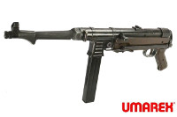 UMAREX MP40 CO2 Blowback SMG (Weathered Black, 6mm BB)