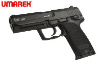 UMAREX Heckler & Koch USP CO2 Blow Back Pistol (Black, 6mm)