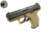 WE Metal Slide P99 GBB Pistol (2-Tone)