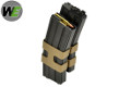 WE 80 Rounds Dual STANAG Gas Magazine For M4/M16 GBB Rifle (BK)