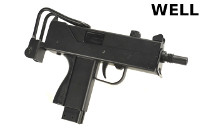 WELL G12 MAC-11/M11A1 GBB Full Auto Machine Pistol/SMG (BK)