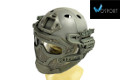 WOSport G4 System PJ Fast Helmet With Steel Mask (Ranger Green)