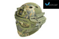 WOSport G4 System PJ Fast Helmet With Steel Mask (DW)
