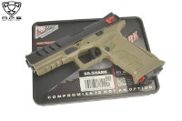 "APS ""SHARK"" Full Auto CO2 Air Pistol (BK, 4.5mm Steel Pellets)"