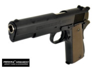 Army Metal M1911A1 GBB Pistol Marking Version (R31, Black)