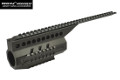 ARMY Metal AUG RAS Handguard For AUG A3 AEG Bullpup Rifle (BK)