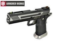 Armorer Works HI-CAPA 5.1 4.5mm Steel Pellet CO2 Pistol (2-Tone)