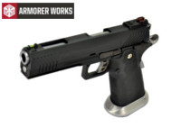 Armorer Works HI-CAPA 5.1 4.5mm Steel Pellet CO2 Pistol (Black)
