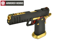 Armorer Works HX2002 4.5mm Steel Pellet CO2 Pistol (Black)