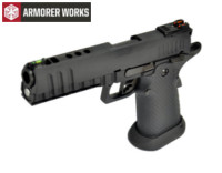 Armorer Works HX2003 4.5mm Steel Pellet CO2 Pistol (Black)