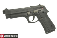 Armorer Works M9 / 92FS CO2 Blowback Pistol (BK, 4.5mm Pellets)
