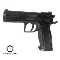 Cybergun TANFOGLIO CO2 Limited Custom Pistol-Eric Grauffel,Black