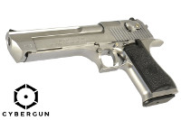 Cybergun MRI Licensed Desert Eagle .50 AE Mark XIX GBB (Silver)