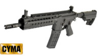 CYMA Key-Mod handguard M4 AEG Rifle with IMOD Stock (Black)