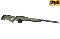 CYMA L96A1 Spring Bolt Action Sniper Rifle (Olive Drab)