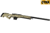 CYMA L96A1 Spring Bolt Action Sniper Rifle (Tan)