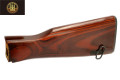 E&L Real Wood AKM Fixed Stock For AKM AEG Rifle (Dark Wood)