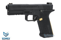 EMG SAI Official Licensed BLU Training Weapon GBB Pistol (Black)
