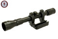 G&G Metal ZF41 1.5x Scope For Kar98K Bolt Action Rifle (Black)