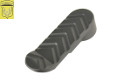 Golden Eagle Metal Fixed Butt Pad For AR Type Stock Tube (Black)