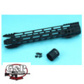 G&P 12.5 inch Phantom M-Lok Handguard for M4 AEG/GBB (Black)