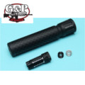 G&P 14mm CW/CCW BIO Infected Silencer (Black)