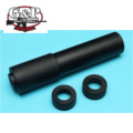 G&P M11 Silencer with Tracer Adaptor For KSC M11A1(Black)