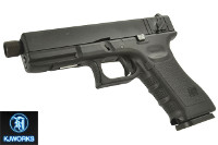 KJ Works KP18 G18C Gen3 Tactical Full-Auto CO2 Pistol (Black)