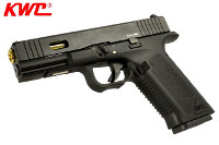 KWC G17 Custom CO2 Blowback Pistol (Black, AAKCCB190)