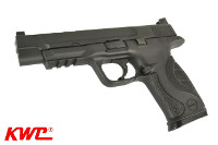 KWC CENTER PORTED M&P9L CO2 Blowback Pistol (Black)