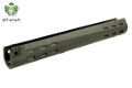 LCT Slimline Forearm Handguard For G3 AEG Rifle (Black)