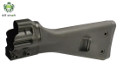 LCT G3A3 Fixed Stock w/ Steel Backplate For G3 AEG Rifle (Black)