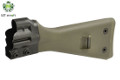 LCT G3A3 Fixed Stock w/ Steel Backplate For G3 AEG Rifle (OD)