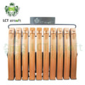 LCT AK AEG LCK74 70 round 10pcs Magazine with Holder-Orange