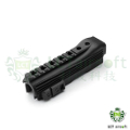 LCT Tactical Lower Handguard For AK-104 AEG Rifle (Black)