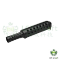 LCT Steel Vented Upper Handguard For AK Series AEG Rifle (Black)