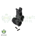 LCT Steel Front Sight Block For AKS-74U AEG Rifle (Black)
