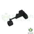 LCT Steel Stock Button For AK-74S / 74M / AK-100 Series AEG (BK)